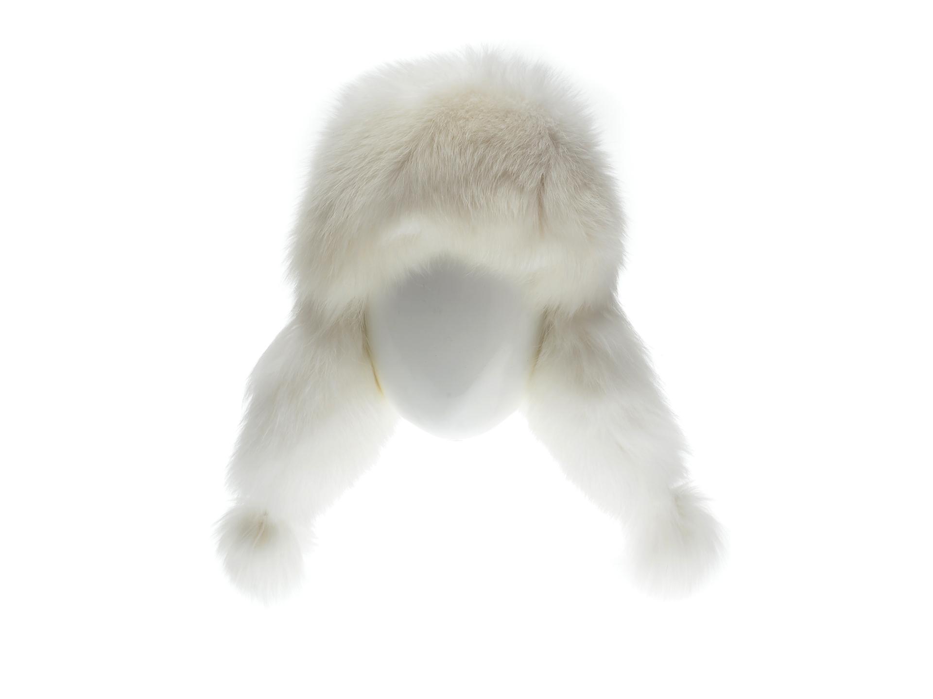 Caciula KLOP alba, ZIMUSKA, din piele naturala imagine otter.ro 2021