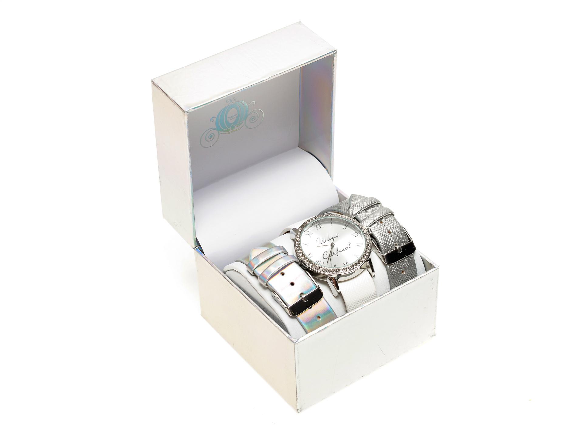 Ceas ALDO argintiu, Up, din piele ecologica imagine