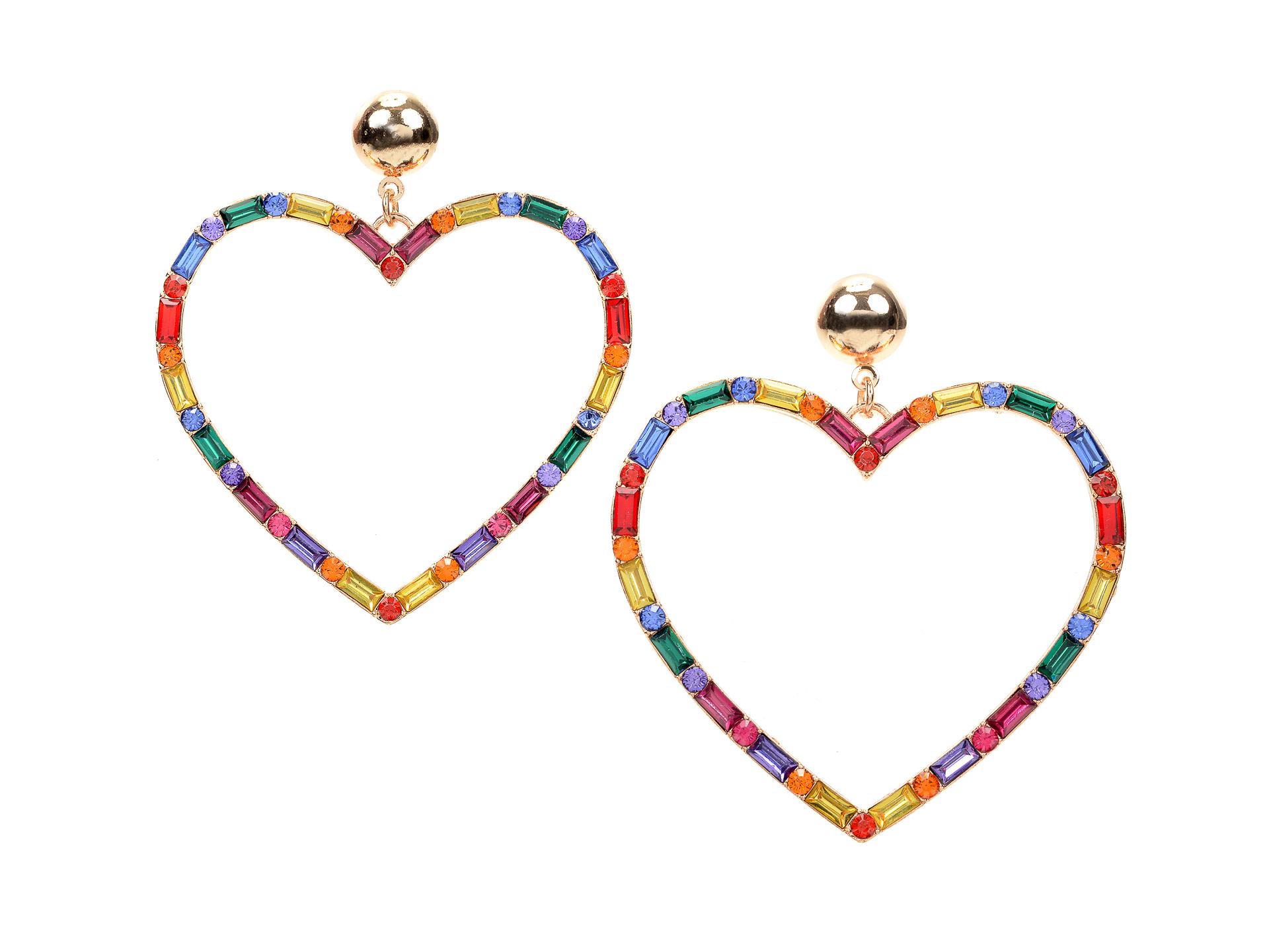 Cercei ALDO multicolori, Esra961, din metal imagine otter.ro