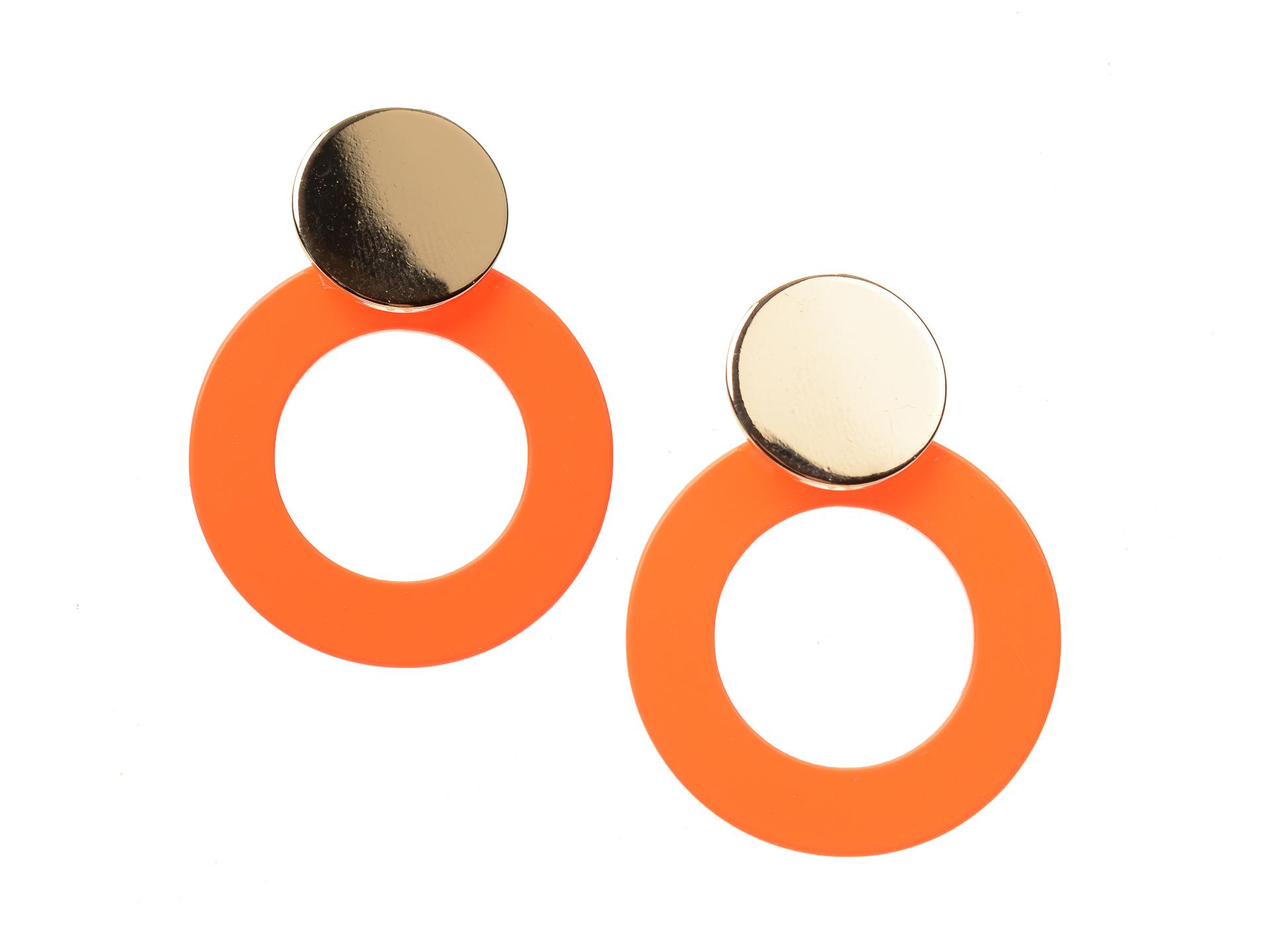 Cercei ALDO portocalii, Sevendasa820, din metal imagine otter.ro