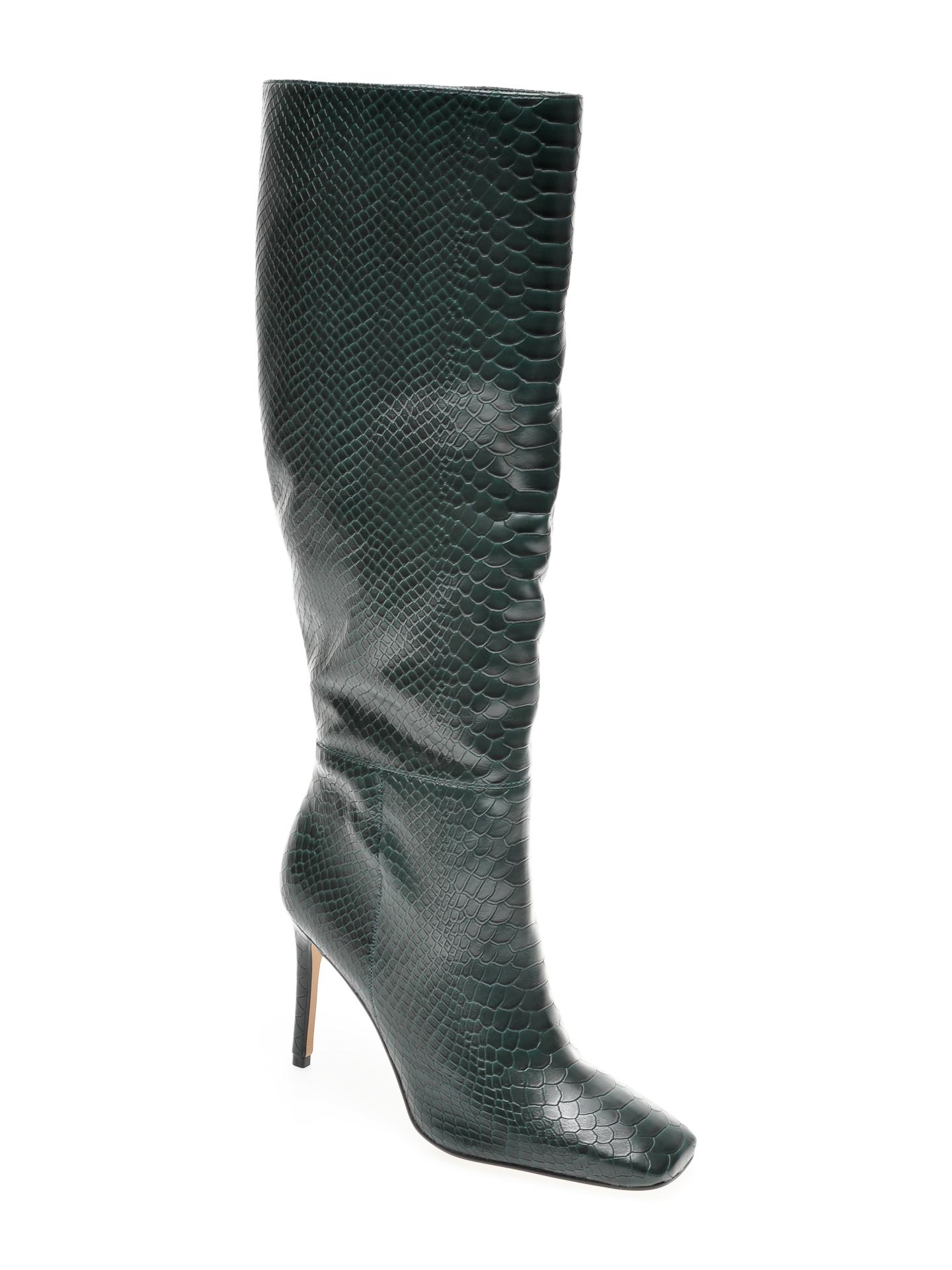 Cizme ALDO verzi, Oluria300, din piele ecologica imagine