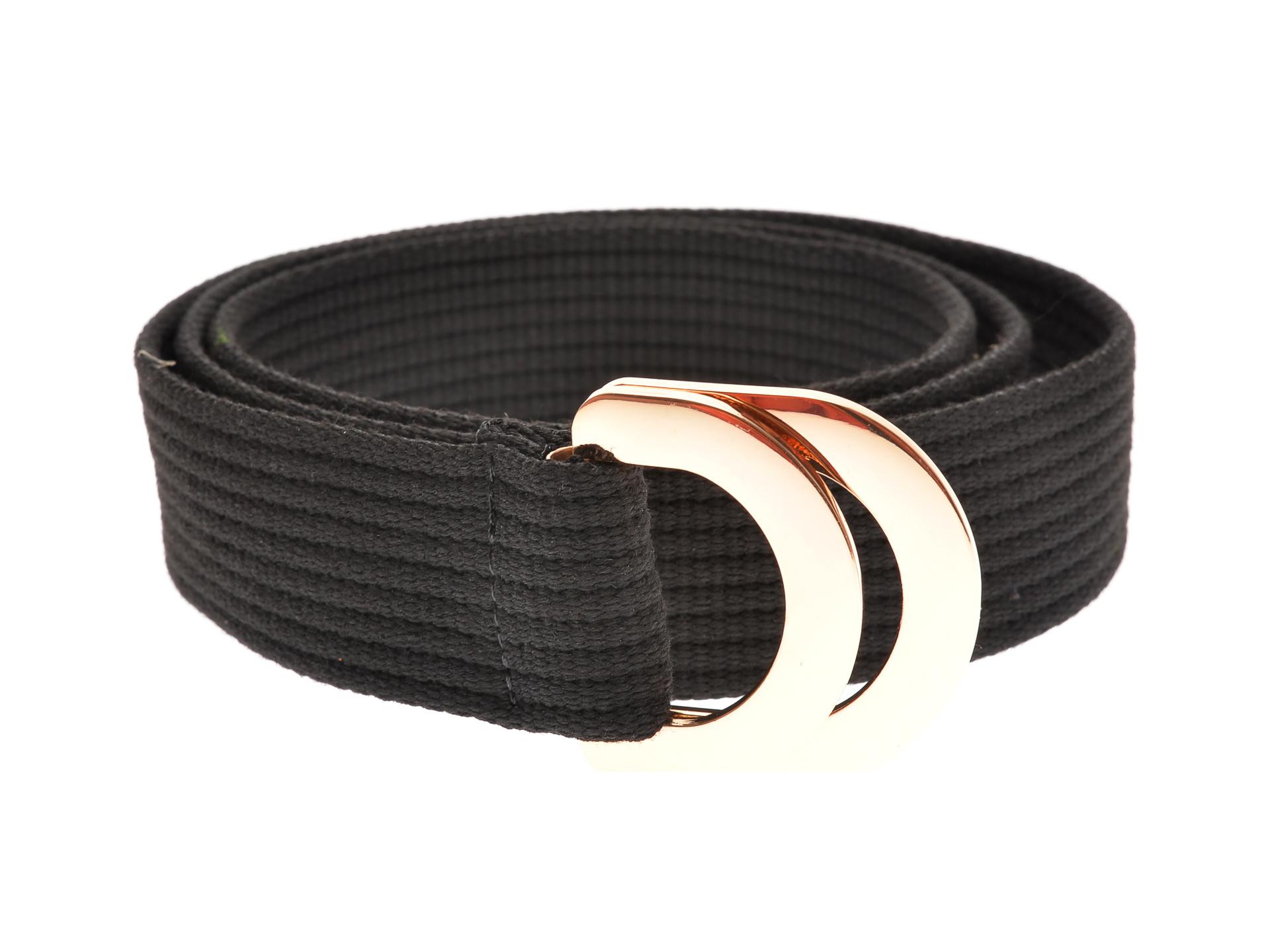Curea ALDO neagra, Sumantra970, din material textil imagine