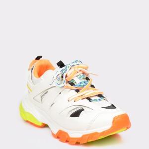 Pantofi sport GRYXX albi, T1500, din piele ecologica - a69sj9111dkt150099 diagonala simpla fundal gri - Pantofi sport GRYXX albi, T1500, din piele ecologica