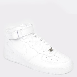 Pantofi sport NIKE albi, 315123, din piele ecologica - ik9s13112bk3151239 diagonala simpla fundal gri - Pantofi sport NIKE albi, 315123, din piele ecologica