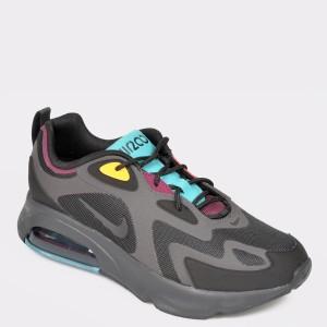 Pantofi sport NIKE negri, Aq2568, din material textil - ik9z01111bkaq25689 diagonala simpla fundal gri - Pantofi sport NIKE negri, Aq2568, din material textil