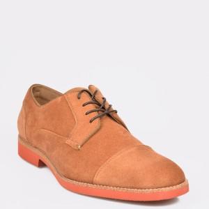 Pantofi ALDO maro, Adielian, din piele naturala - od9n30111b12653746 diagonala simpla fundal gri - Pantofi ALDO maro, Adielian, din piele naturala