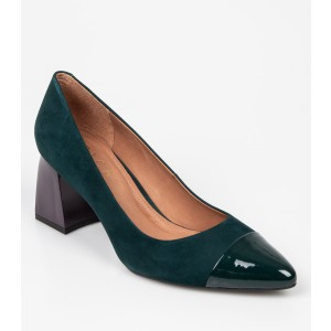 Pantofi EPICA verzi, 8493456, din nabuc - oe9206111dk8493456 diagonala simpla fundal alb - Pantofi EPICA verzi, 8493456, din nabuc