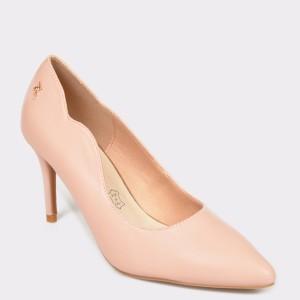 Pantofi MENBUR nude, 20901, din piele ecologica - uq9sm2111dk2090199 diagonala simpla fundal gri - Pantofi MENBUR nude, 20901, din piele ecologica