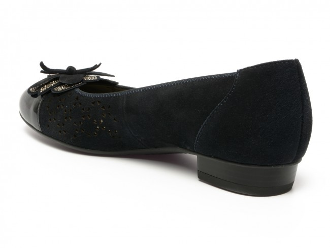 gama exclusivă cumpărare vânzare cod promoțional Pantofi Ara albastri, din piele intoarsa   Otter.ro
