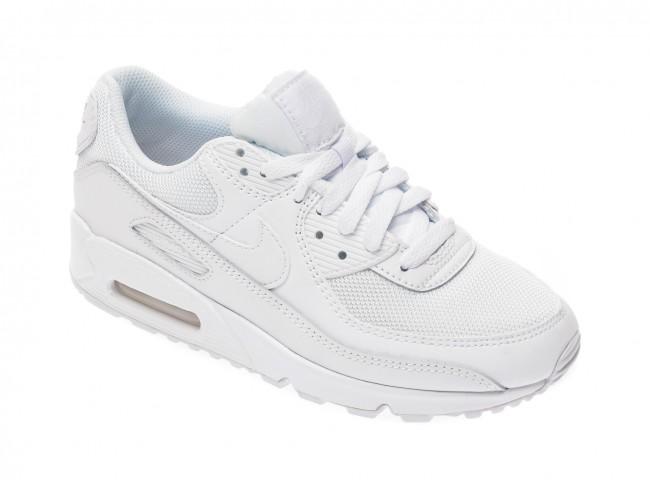 transmitir tanto Revocación  Pantofi sport NIKE albi, AIR MAX 90, din material | otter.ro