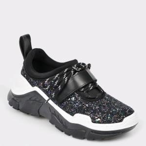 Pantofi sport GRYXX negri Mk1089 din piele ecologica
