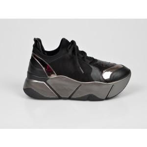 Pantofi sport GRYXX negri, MO86W4, din piele ecologica