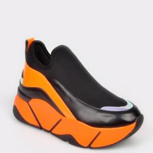 Pantofi GRYXX portocalii, Mo86w9, din piele ecologica