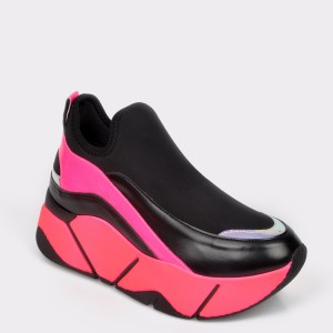 Pantofi Sport Gryxx Fucsia, Mo86w9, Din Piele Ecologica