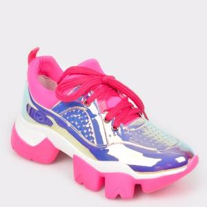 Pantofi GRYXX fucsia, MO99299, din piele ecologica