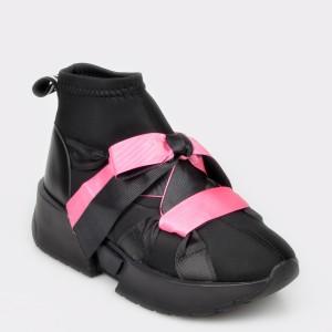 Pantofi sport GRYXX negri, MK105B1, din material textil