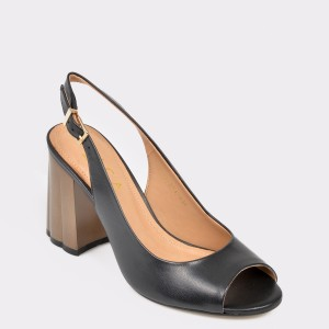 Sandale Epica Made In Brazil Negre, 6446274, Din Piele Naturala