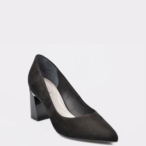Pantofi EPICA MADE IN BRAZIL negri, 9829553, din nabuc