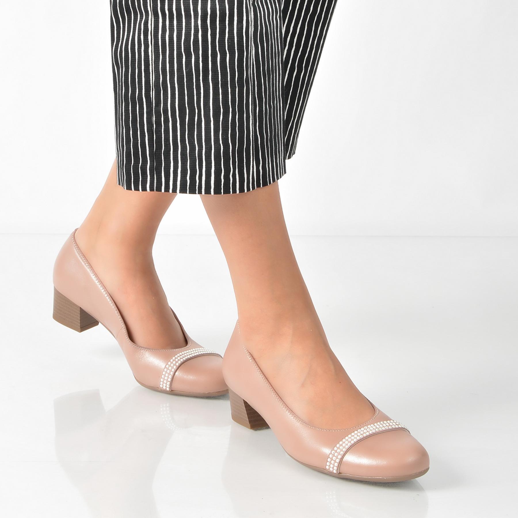 Pantofi Ara Roz, 35848, Din Piele Naturala