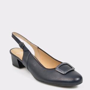 Pantofi ARA bleumarin, 35865, din piele naturala
