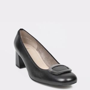 Pantofi ARA negri, 35534, din piele naturala