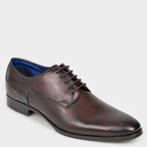 Pantofi BUGATTI maro, 44601, din piele naturala