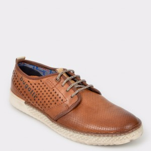 Pantofi BUGATTI maro, 68901, din piele naturala