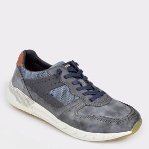 Pantofi sport BUGATTI bleumarin, 65401, din piele ecologica