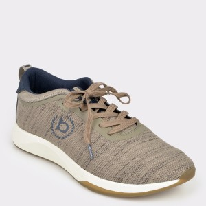 Pantofi sport BUGATTI bej, 62802, din material textil