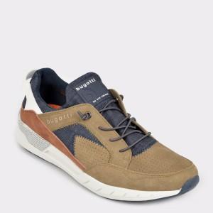Pantofi sport BUGATTI maro, 65460, din piele ecologica