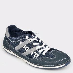 Pantofi sport BUGATTI bleumarin, 72901, din material textil