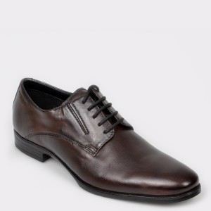 Pantofi BUGATTI maro, 44606, din piele naturala