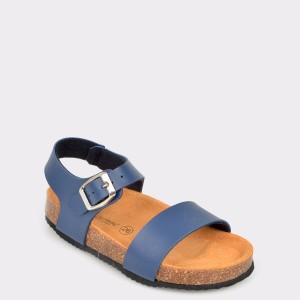 Sandale LA COMPANIA NATURAL bleumarin, Nino, din piele ecologica