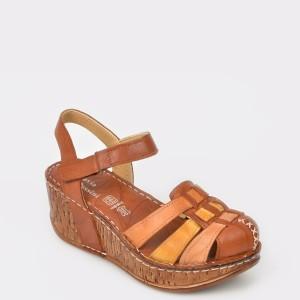 Sandale FLAVIA PASSINI maro, din piele naturala