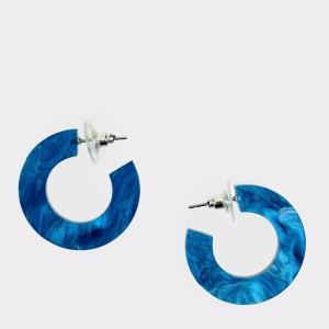Cercei EPICA albastri, HKE5054, din metal