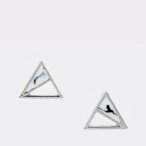 Cercei EPICA argintii, HKE5017, din metal