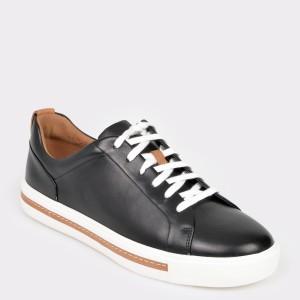 Pantofi sport CLARKS negri, Unmaula, din piele naturala
