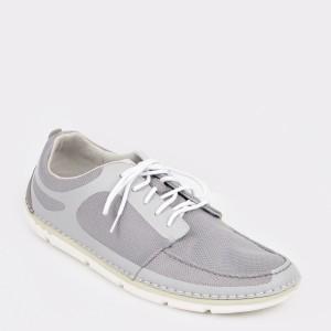 Pantofi sport CLARKS gri, Stemaso, din material textil