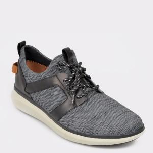 Pantofi sport CLARKS negri, Unglola, din material textil