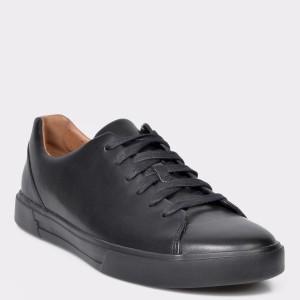 Pantofi sport CLARKS negri, Un Costa Lace, din piele naturala