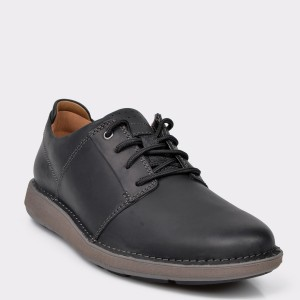 Pantofi CLARKS negri, Unlarla, din piele naturala