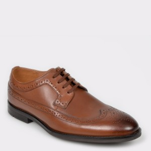 Pantofi CLARKS maro, Ronnie Limit, din piele naturala