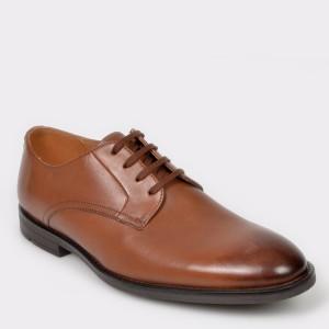 Pantofi CLARKS maro, Ronnie Walk, din piele naturala
