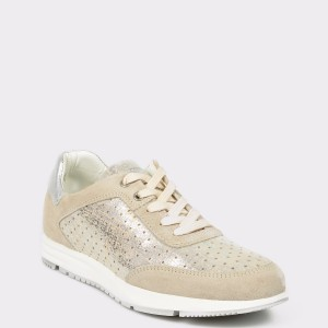 Pantofi sport SALAMANDER bej, 87902, din piele naturala
