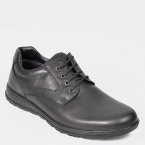 Pantofi SALAMANDER negri, 40006, din piele naturala
