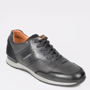 Pantofi sport SALAMANDER negri, 56208, din piele naturala