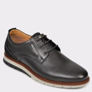Pantofi SALAMANDER negri, 56514, din piele naturala