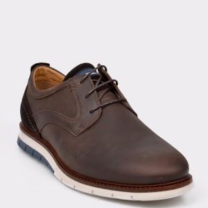 Pantofi SALAMANDER maro, 56501, din piele naturala