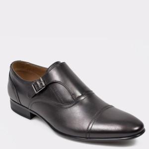 Pantofi ALDO negri Palia din piele naturala