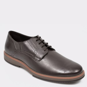 Pantofi GEOX maro, U948CA, din piele naturala